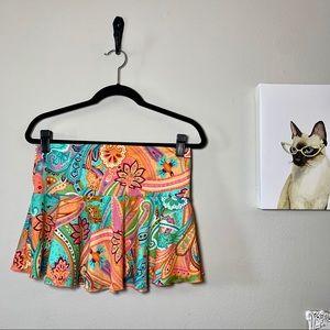 Victoria's Secret Paisley Swimsuit Cover Up Skirt